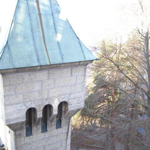 historischer Turm - Schadensaufnahme