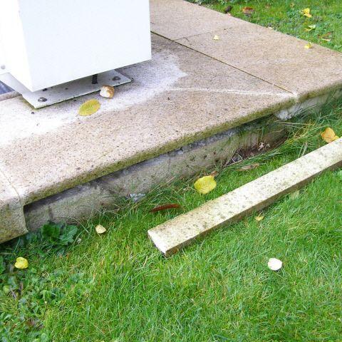 Schaden an Pool Umrandung - Reparatur Vorschlag