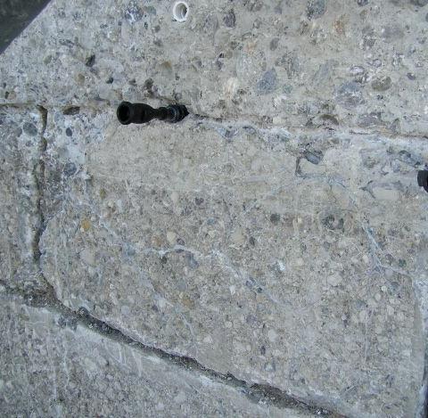 Betonwerkstein Fassade - Restaurierung Vorschlag