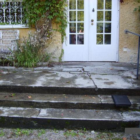 Eingang eines historischen Gebäude - Restaurierung Vorschlag