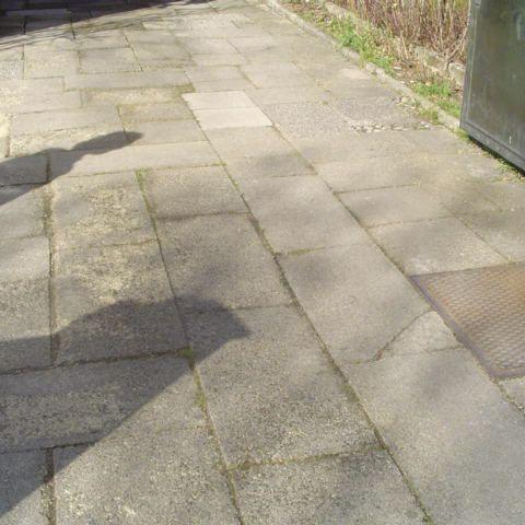 beschädigter terrassenboden - kostenermittlung