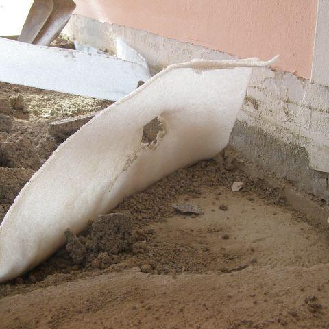 natursteinboden untergrund - prüfung