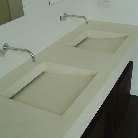 moderner waschtisch - planung