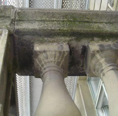 historischer balkon - sanierungsvorschlag